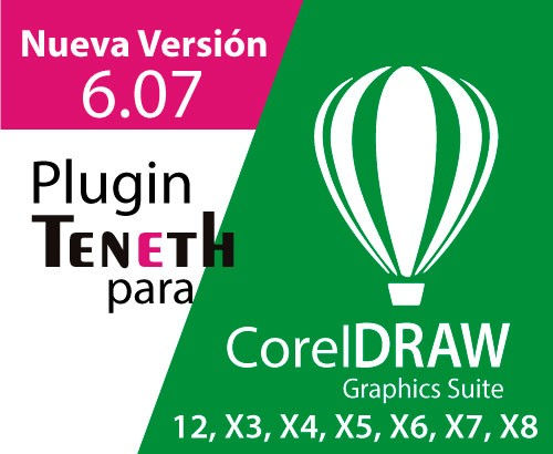 Plugin Teneth Version 6.07 para CorelDraw