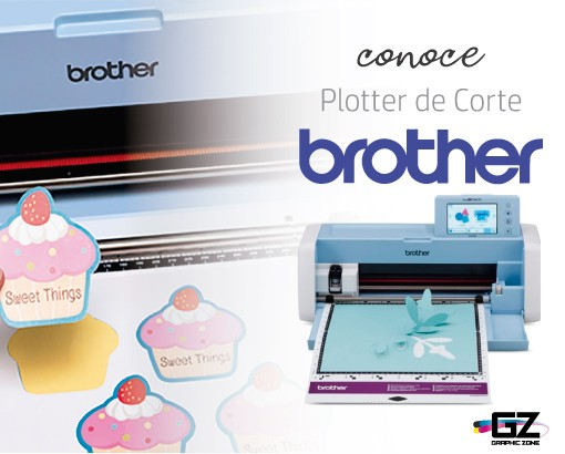 CONOCE EL PLOTTER DE CORTE BROTHER