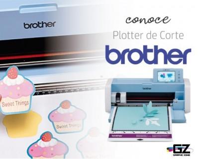 CONOCE EL PLOTTER DE CORTE BROTHER