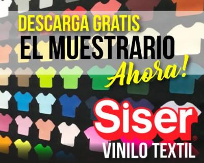 DESCARGATE AHORA EL MUESTRARIO SISER!