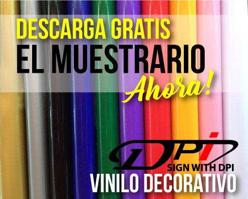 DESCARGATE AHORA EL MUESTRARIO VINILOS DECO!