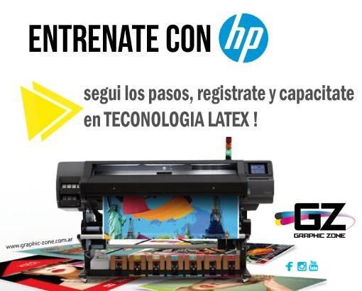CAPACITATE CON HP en TECNOLOGIA LATEX