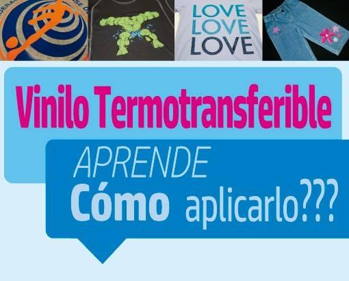 APRENDE A APLICAR EL VINILO TERMOTRANFERIBLE
