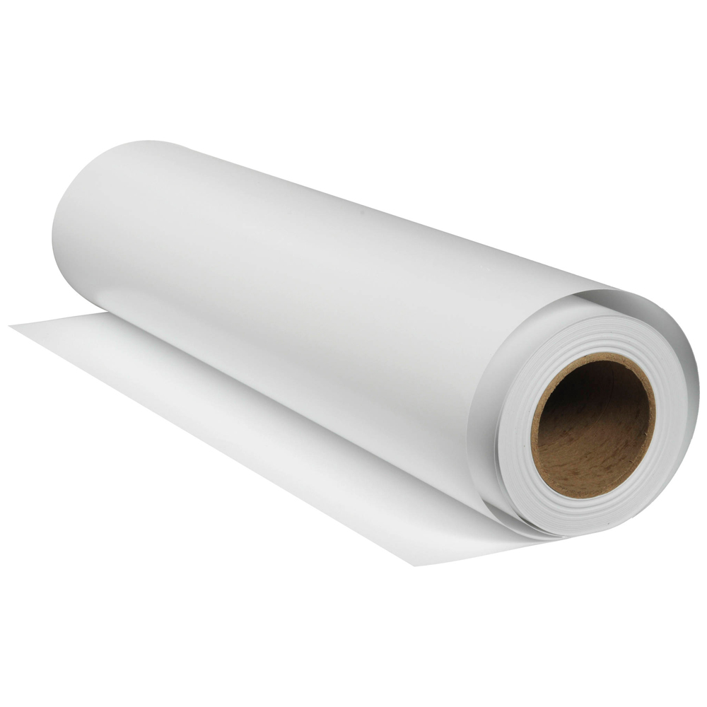 rollo vinilo autoadhesivo matte 100 mic base blanca 1 37mt