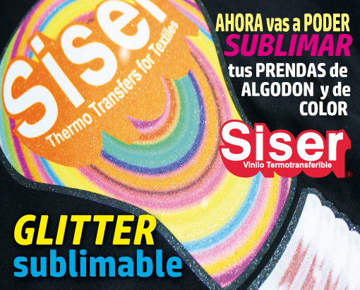 CONOCE GLITTER VINILO SUBLIMABLE
