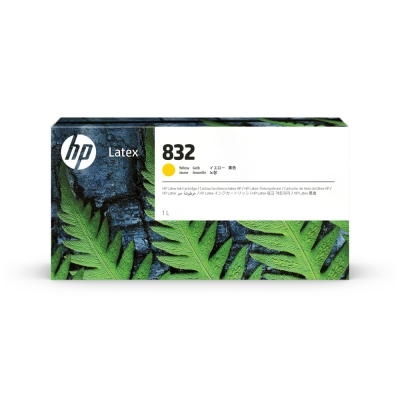 Cartucho HP Nº 832 Amarillo 1L