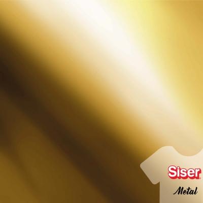Siser Metal Dorado 50 cm por ml