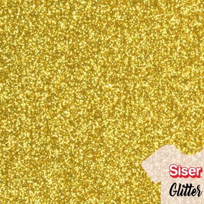 Siser Glitter Dorado 50cm x ml