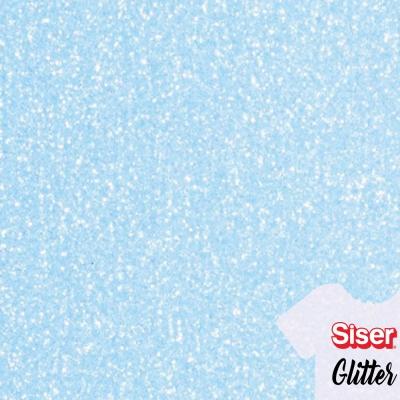 Siser Glitter  Azul Neon 50cm x ml