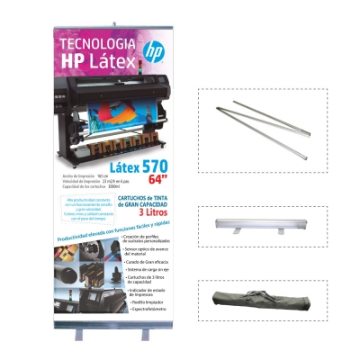 Roll Up RS10 0,85 x 2mts (con bolso)