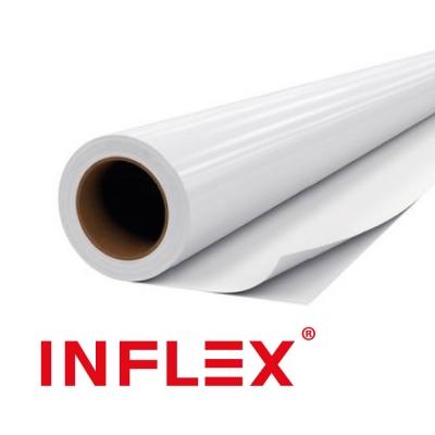 Vinilo INFLEX 90mic  BASE GRIS Brillante 1.37mts