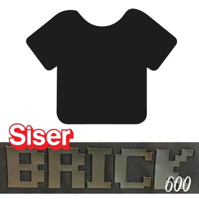 Siser Brick 600 Negro 50cm x ml