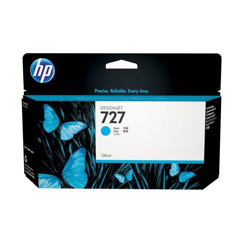 Cartucho HP Nº 727 Cyan (130ml)