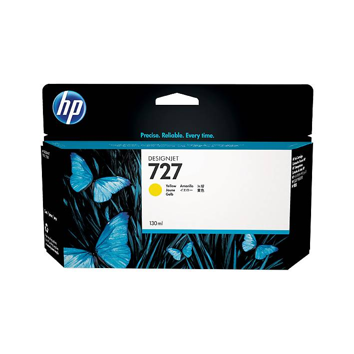 Cartucho HP Nº 727 Amarillo (130ml)