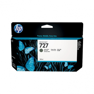 Cartucho HP Nº 727 Negro Mate (130ml)