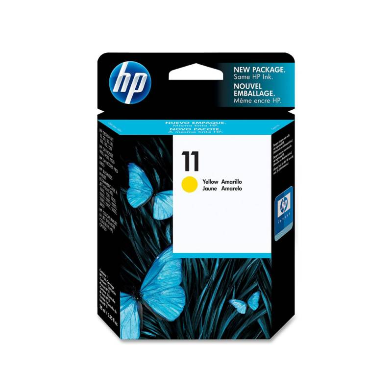 Cartucho HP Nº 11 Yellow (28ml)