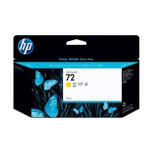 Cartucho HP Nº 72  Amarillo(130ml)