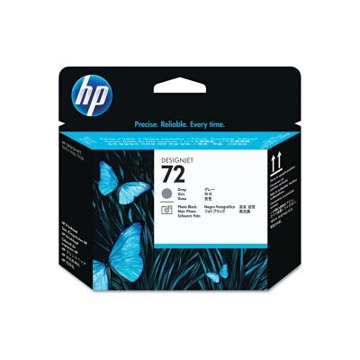 Cabezal HP Nº 72 Gris y Negro Fotografico