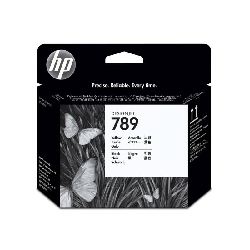 Cabezal HP Nº 789 Amarillo/Negro