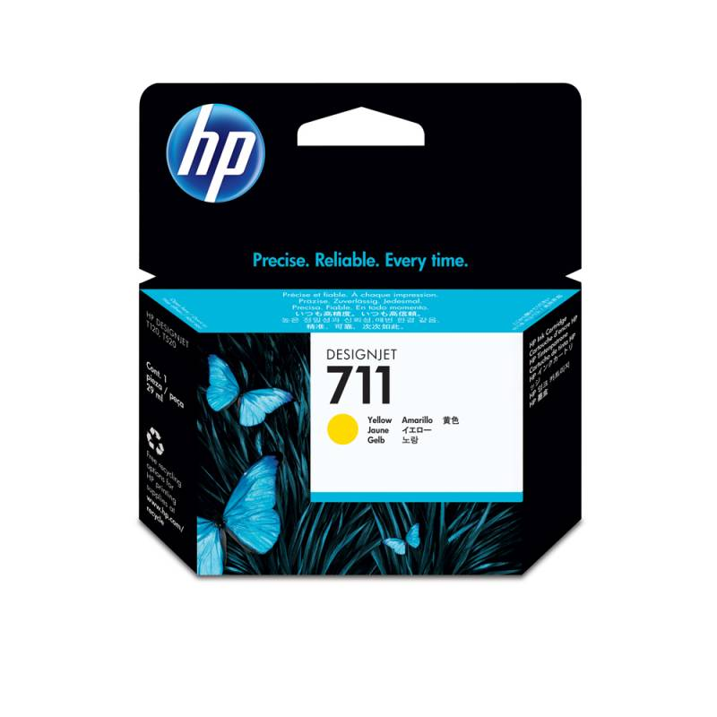 Cartucho HP Nº 711 Amarillo  (29ml)