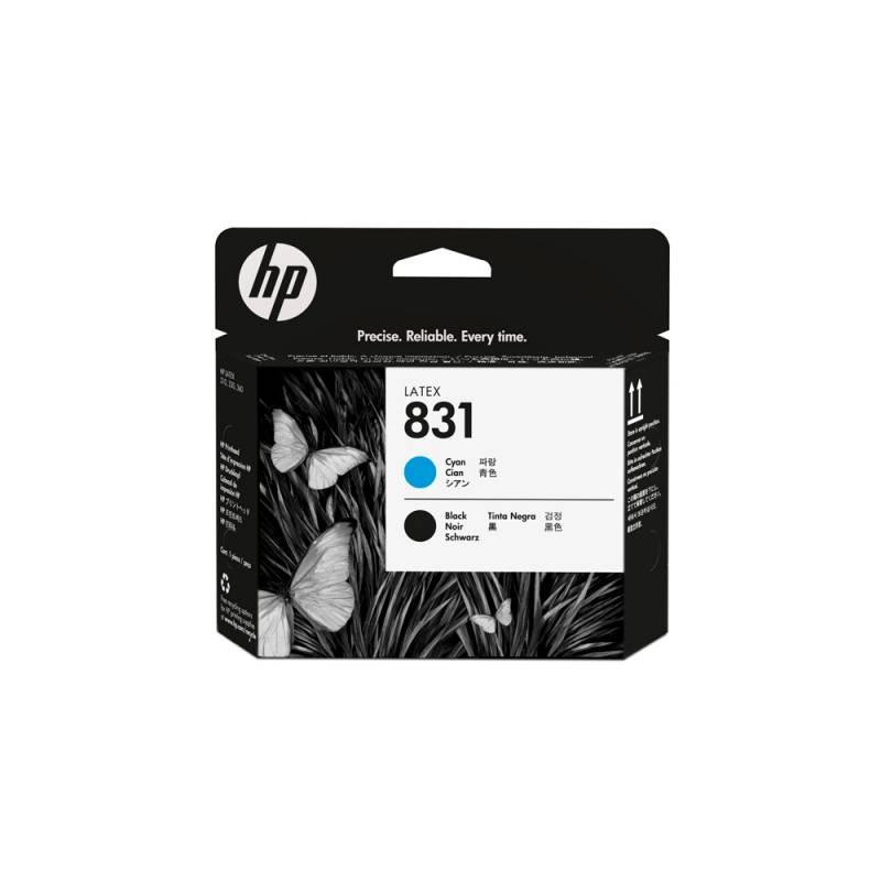 Cabezal HP Nº 831 Cyan/Negro