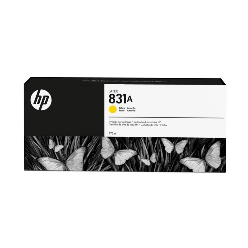 Cartucho HP Nº 831 Amarillo 775ml
