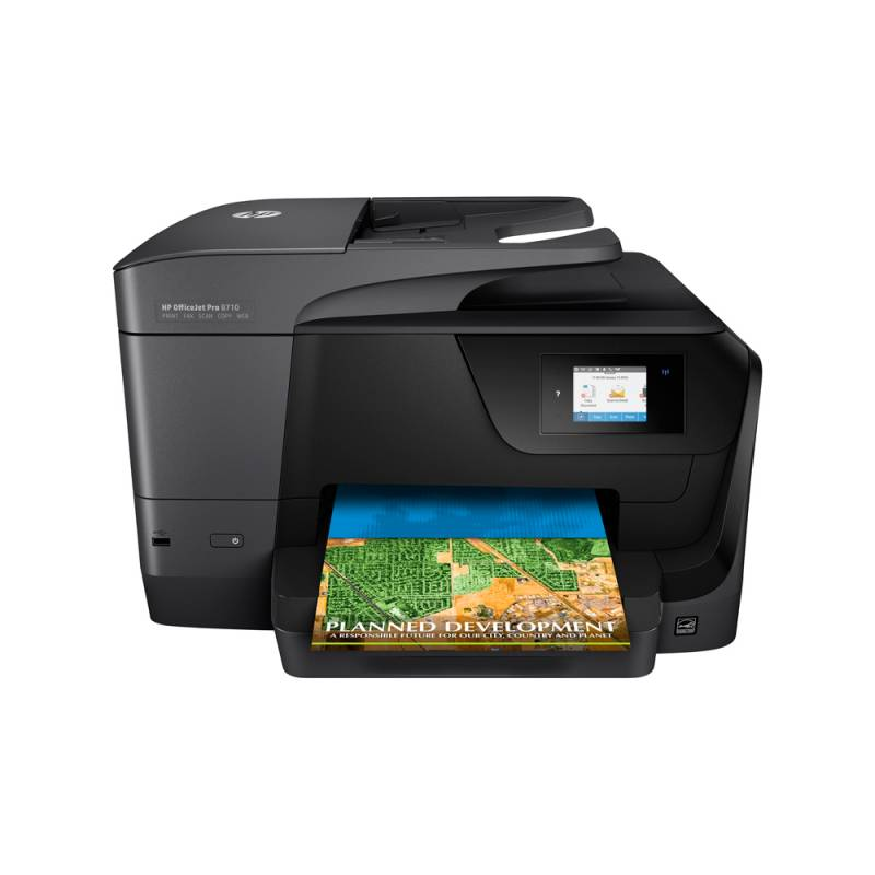 Impresora Multifuncional A4 - HP OfficeJet Pro 8710
