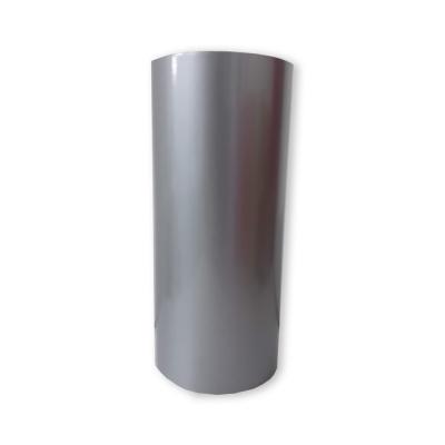 Vinilo Decorativo Autoadhesivo Brillante Rollo de 30cm de ancho por metro lineal - Color: Plateado