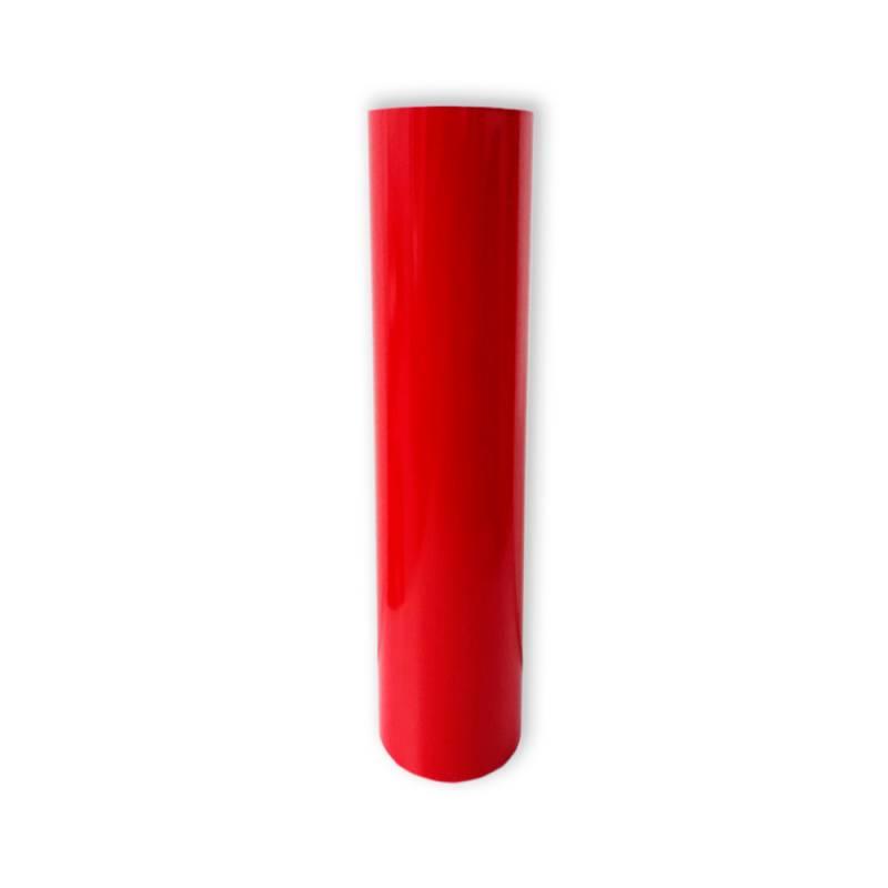 Vinilo Decorativo Autoadhesivo Brillante Rollo de 122 cm de ancho por metro lineal - Color: Rojo Cardinal