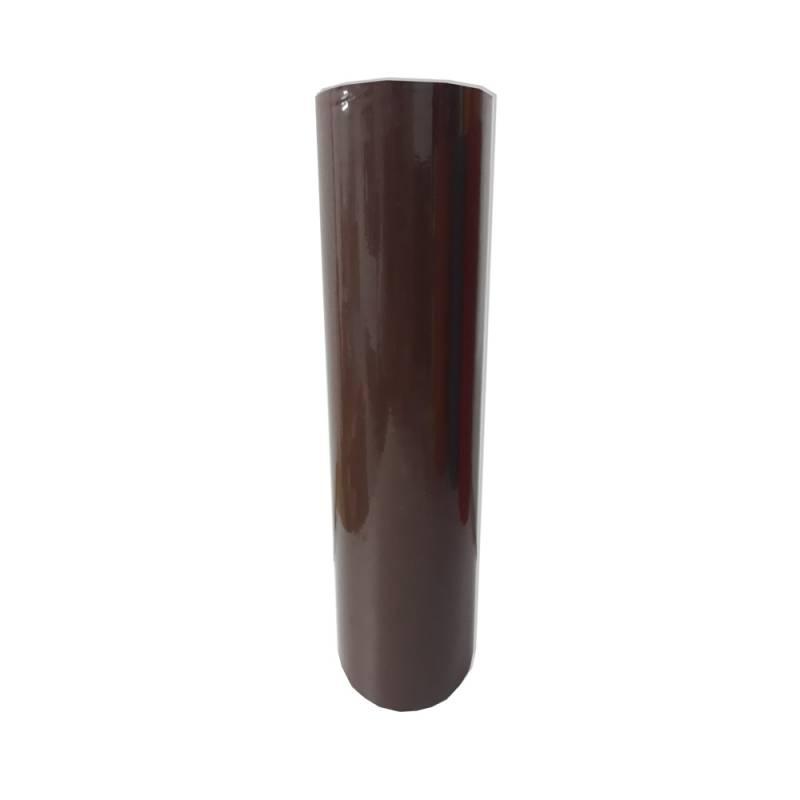Vinilo Decorativo Autoadhesivo Brillante Rollo de 122 cm de ancho por metro lineal - Color: Marron Oscuro