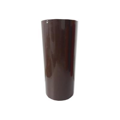Vinilo Decorativo Autoadhesivo Brillante Rollo de 30cm de ancho por metro lineal - Color: Marron Oscuro