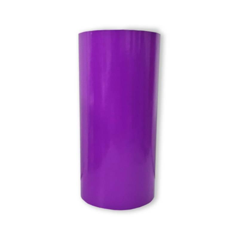Vinilo Decorativo Autoadhesivo Brillante Rollo de 30cm de ancho por metro lineal - Color: Violeta