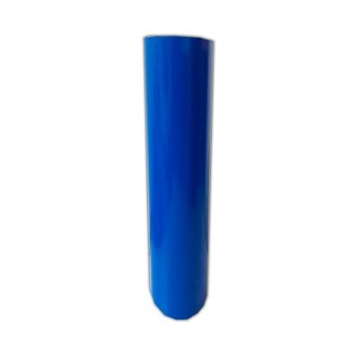 Vinilo Decorativo Autoadhesivo Brillante Rollo de 122 cm de ancho por metro lineal - Color: Azul Medio