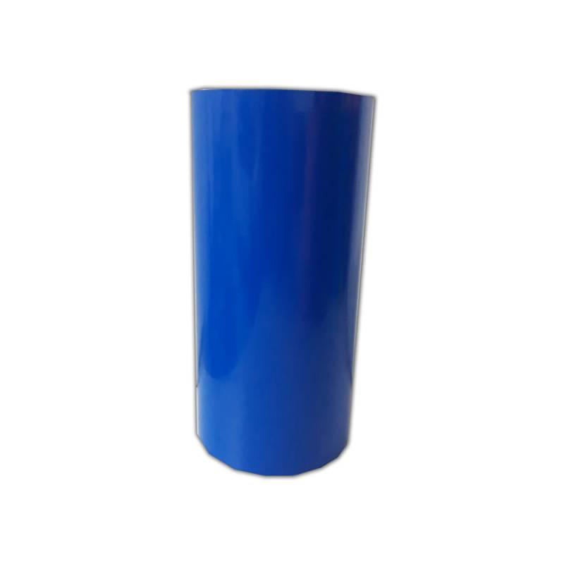Vinilo Decorativo Autoadhesivo Brillante Rollo de 30cm de ancho por metro lineal - Color: Azul Medio