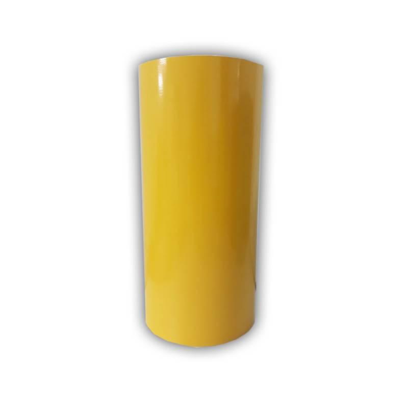 Vinilo Decorativo Autoadhesivo Brillante Rollo de 30cm de ancho por metro lineal - Color: Amarillo Medio