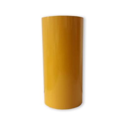 Vinilo Decorativo Autoadhesivo Brillante Rollo de 30cm de ancho por metro lineal - Color: Amarillo Oro