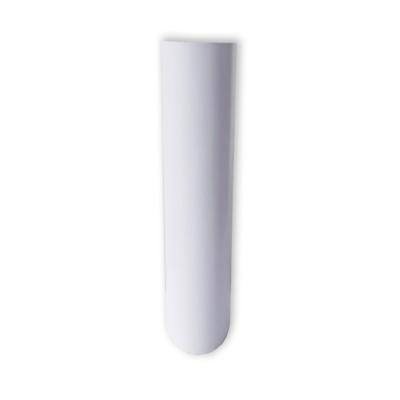 Vinilo Decorativo Autoadhesivo Brillante Rollo de 122 cm de ancho por metro lineal - Color: Blanco