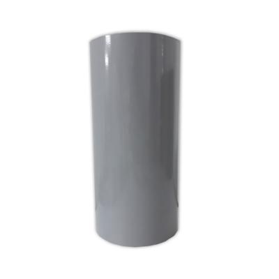 Vinilo Decorativo Autoadhesivo Brillante Rollo de 30cm de ancho por metro lineal - Color: Gris Claro