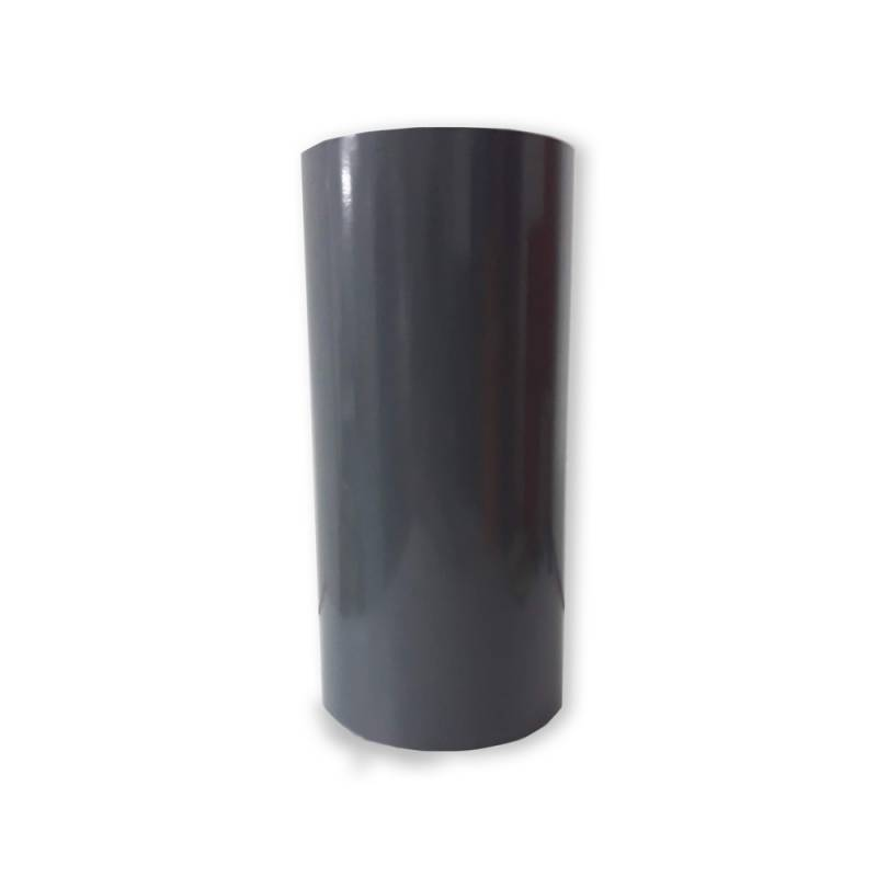 Vinilo Decorativo Autoadhesivo Brillante Rollo de 30cm de ancho por metro lineal - Color: Gris Oscuro