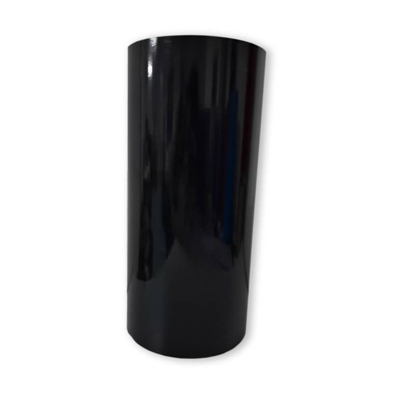 Vinilo Decorativo Autoadhesivo Brillante Rollo de 30cm de ancho por metro lineal - Color: Negro Brillante