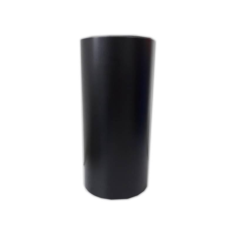 Vinilo Decorativo Autoadhesivo Brillante Rollo de 30cm de ancho por metro lineal - Color: Negro Matte