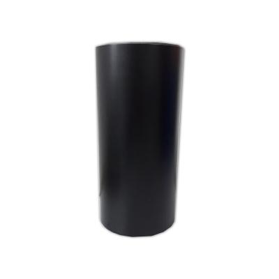 Vinilo Decorativo Autoadhesivo Rollo de 30cm de ancho por metro lineal - Color: Negro Matte