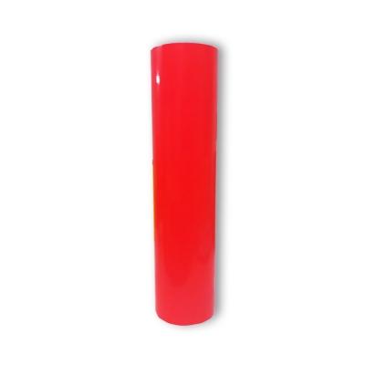 Vinilo Decorativo Autoadhesivo Brillante Rollo de 61cm de ancho por metro lineal - Color: Naranja Fluo