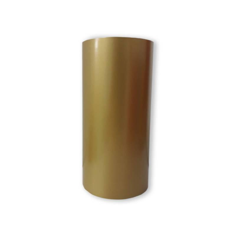 Vinilo Decorativo Autoadhesivo Brillante Rollo de 30cm de ancho por metro lineal - Color: Dorado
