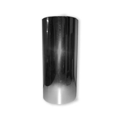 Vinilo Decorativo Autoadhesivo Metalizado Rollo de 30cm de ancho por metro lineal - Color: Plateado Metalizado