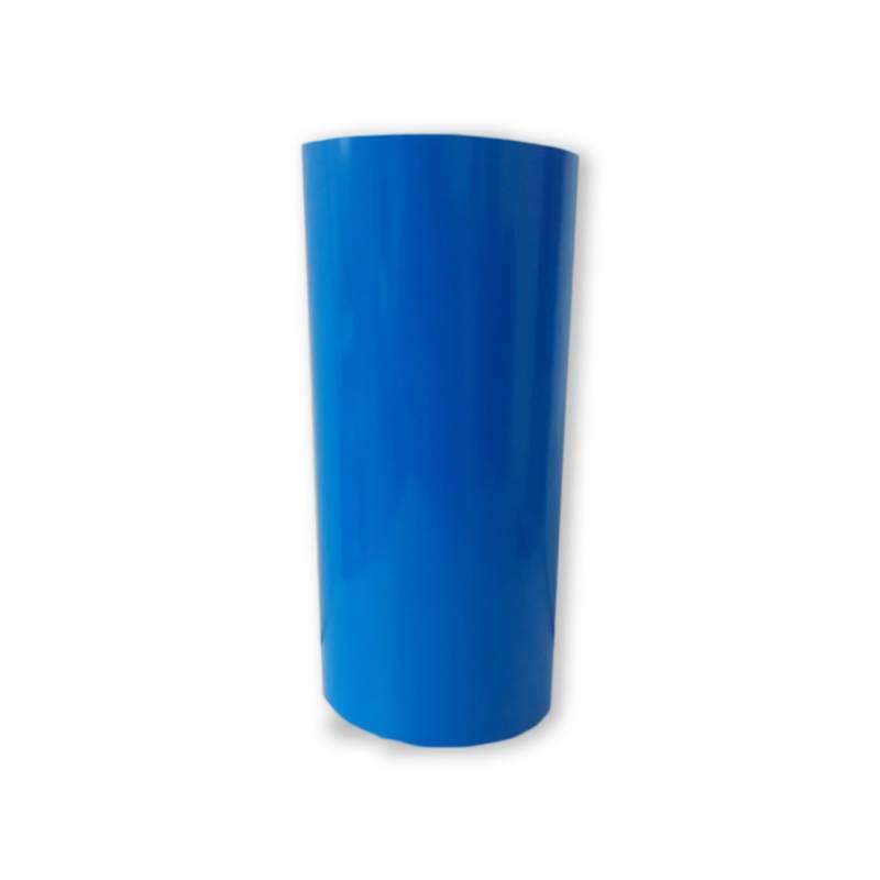 Vinilo Decorativo Autoadhesivo Brillante Rollo de 30cm de ancho por metro lineal - Color: Celeste