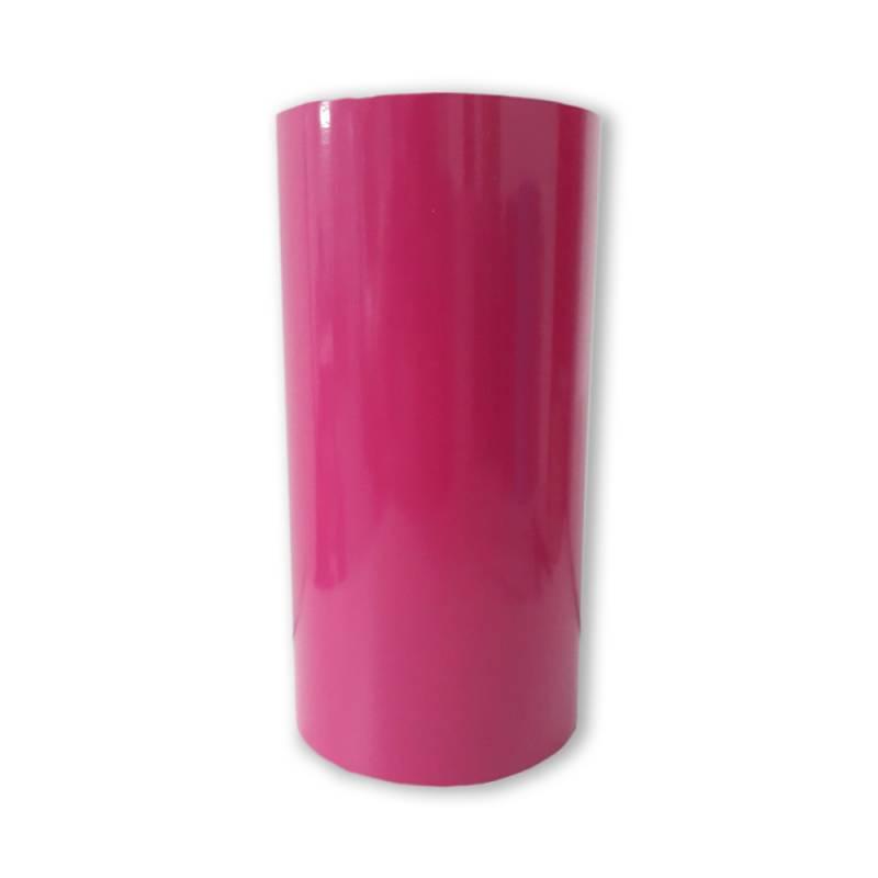 Vinilo Decorativo Autoadhesivo Brillante Rollo de 30cm de ancho por metro lineal - Color: Magenta