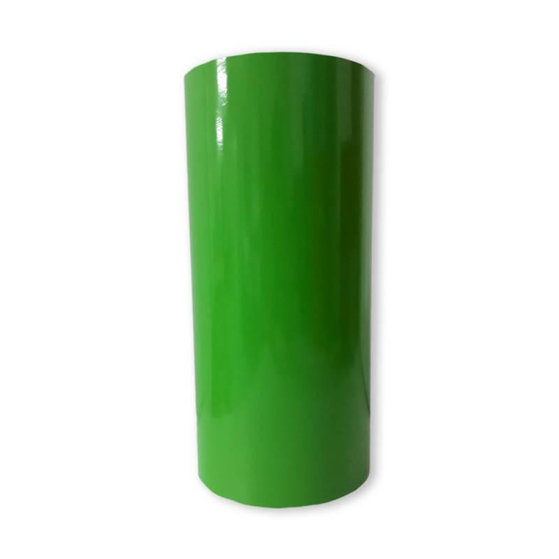 Vinilo Decorativo Autoadhesivo Brillante Rollo de 30cm de ancho por metro lineal - Color: Verde Manzana