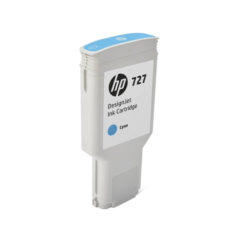 Cartucho HP Nº 727 Cyan (300ml)