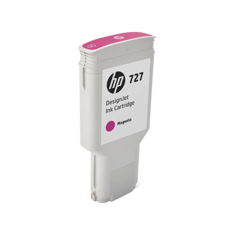 Cartucho HP Nº 727 Magenta (300ml)